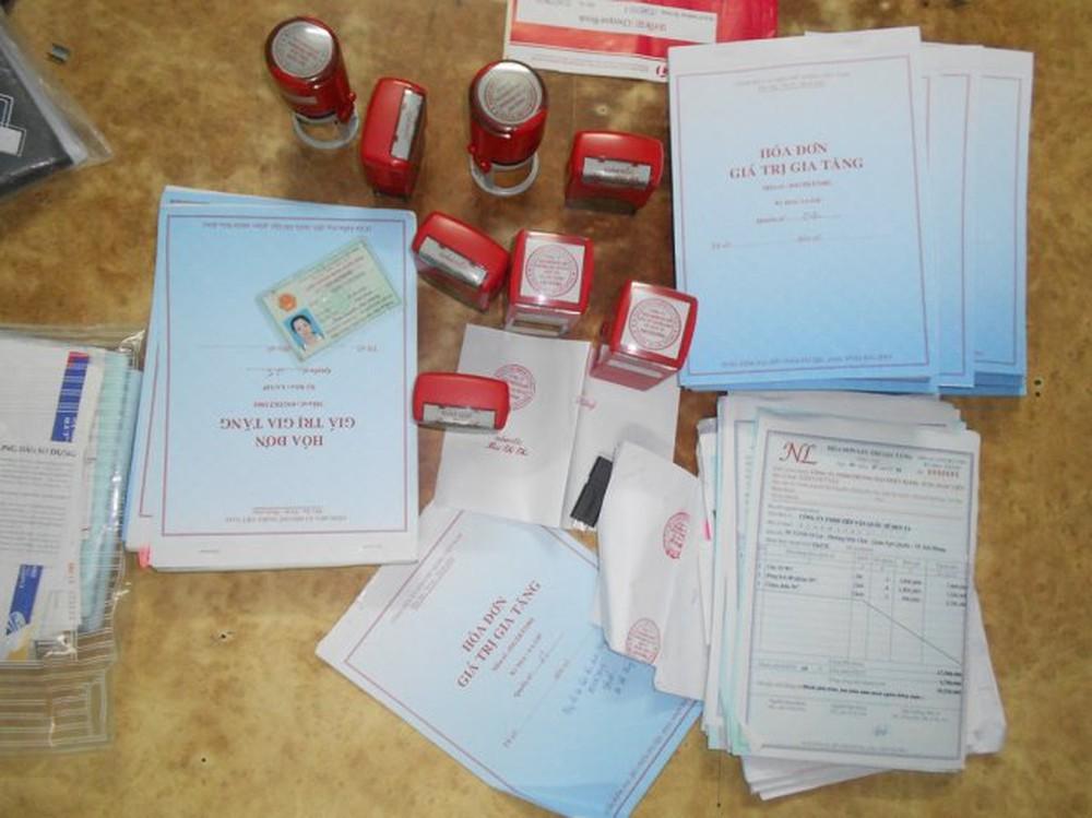 in ấn mua bán trái phép hóa đơn