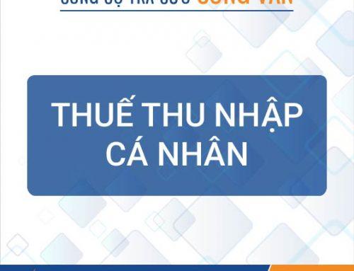 Công cụ tra cứu công văn hướng dẫn về thuế TNCN