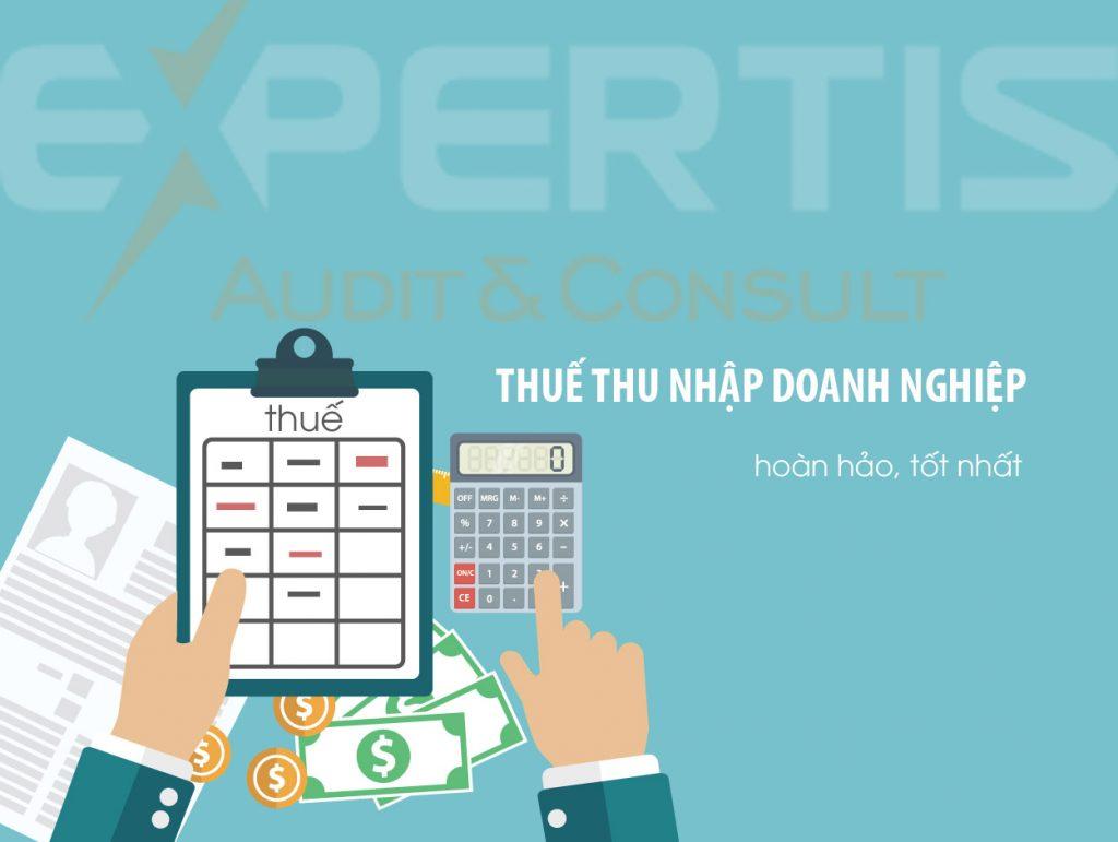dịch vụ thu nhập doanh nghiệp - Thuế TNDN
