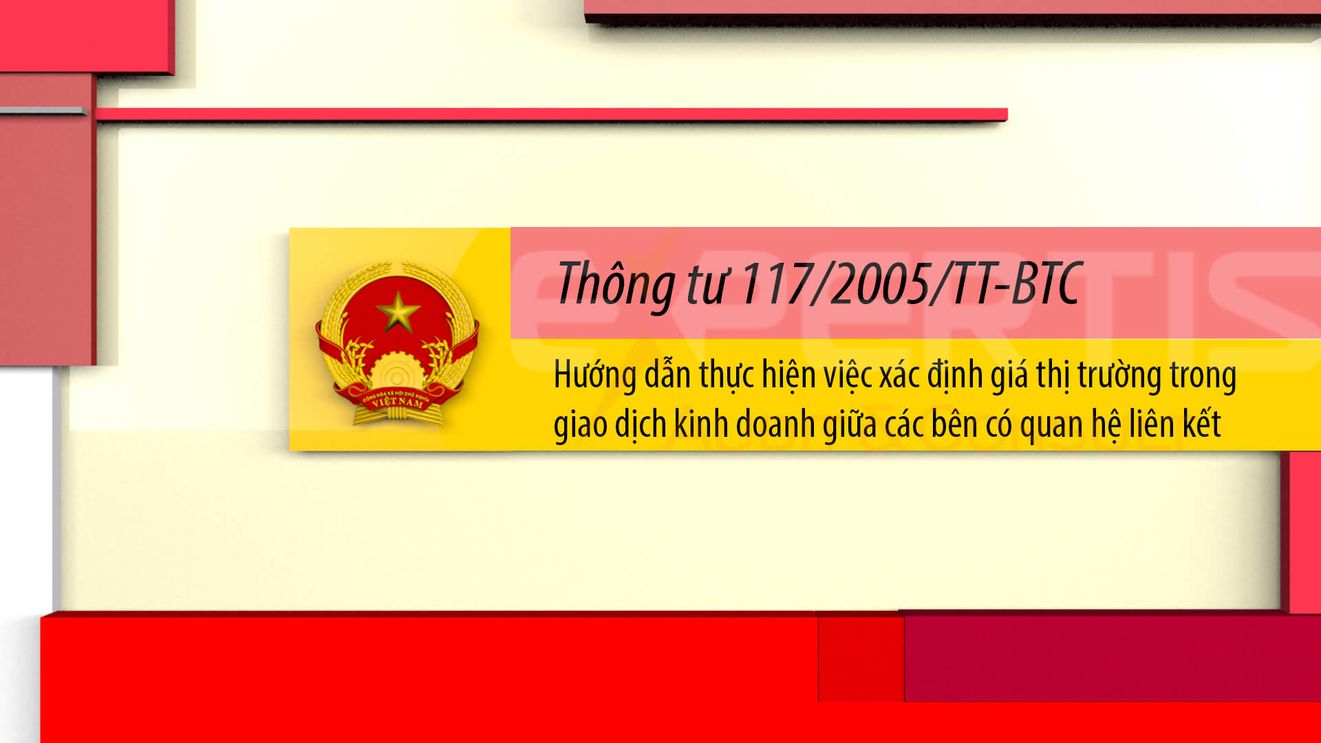 Thông tư 117/2005/TT-BTC
